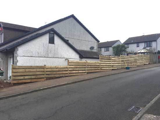 New Fencing, St Earth